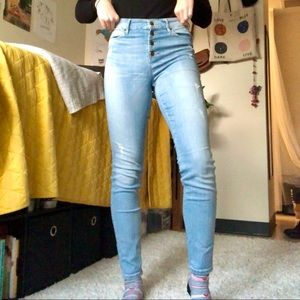 Guess 1981 High Rise Skinny Jeans